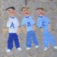 Tre frække drenge
