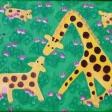 Gigi leger girafleg