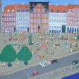 2005 Loppemarked på Gammel Strand, København.