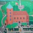 Slotskirken, Skanderborg. Brudeparret fotograferes