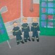 Brandmændene står klar til udrykning