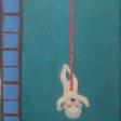 """""""So simple"""" - 1995. Udsnit. Olie på lærred. 180 x 120 cm"""