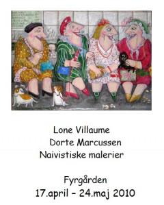 Ferniseringsindbydelse Hundested Kunstforening forside